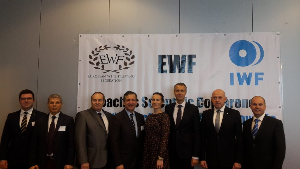 The European Weightlifting Federation has held a coaches' scientific conference in Košice ©EWF