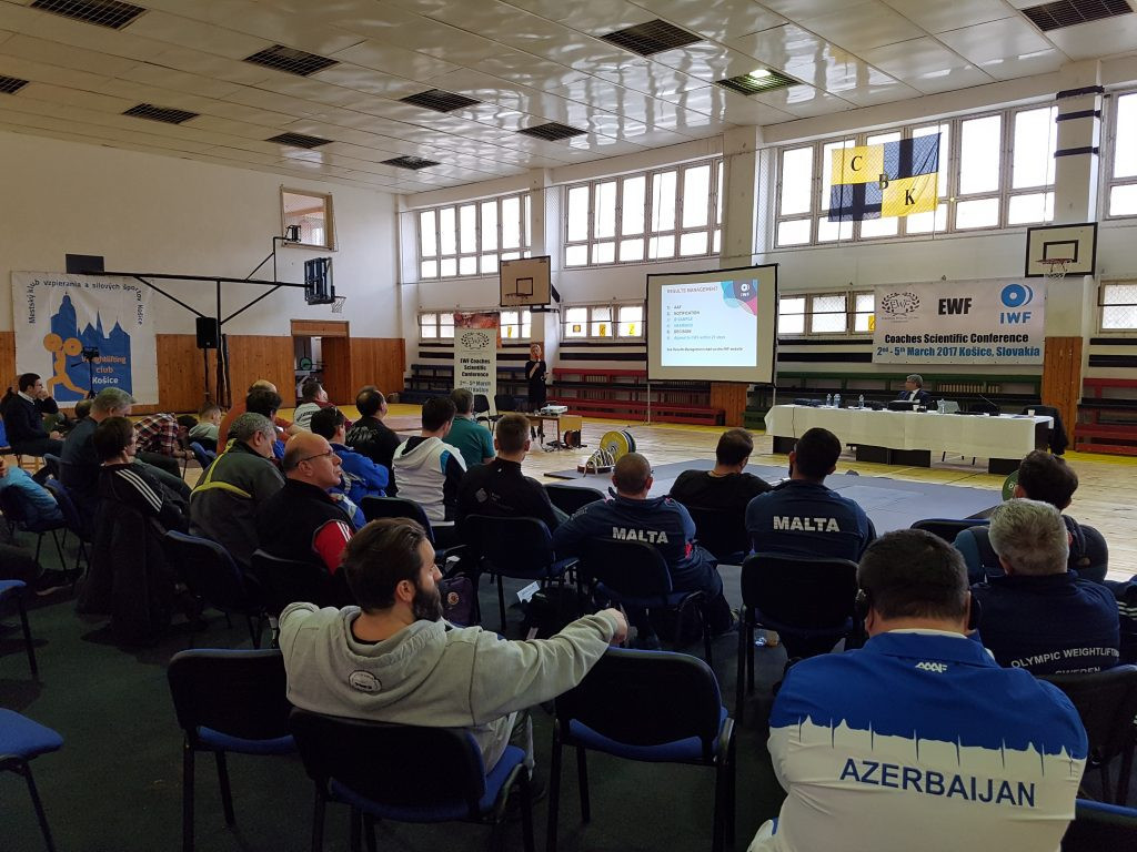 Coaches from more than 20 European countries attended the course ©EWF