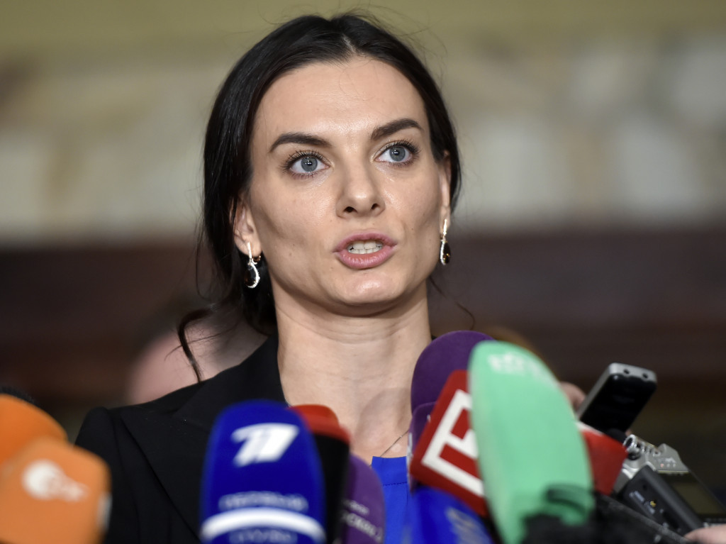 Yelena Isinbayeva is chair of the Supervisory Board of RUSADA ©Getty Images
