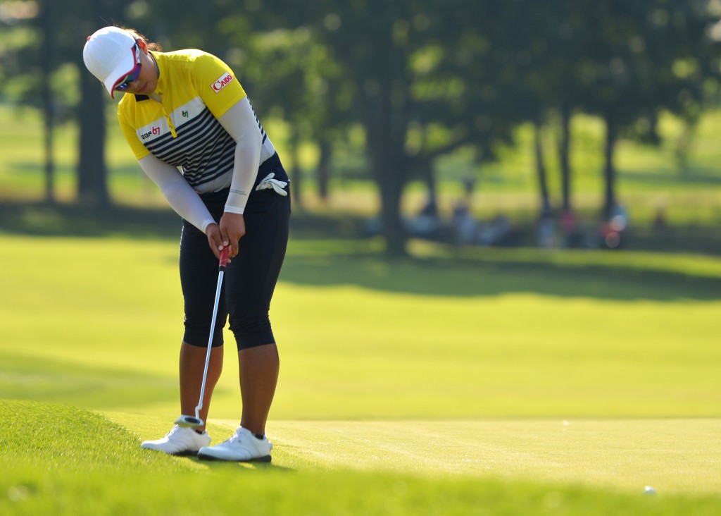 South Korea's Amy Yang will begin the final round at the Lancaster Country Club with a three-shot lead ©Getty Images