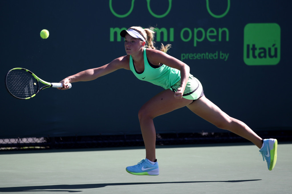 Top women's qualifying seed crashes out of Miami Open