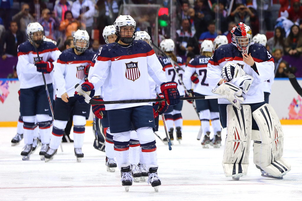 Progress appears to have been made in the dispute over wages between USA Hockey and the women's national team amid threats of a boycott from the upcoming World Championships ©Getty Images