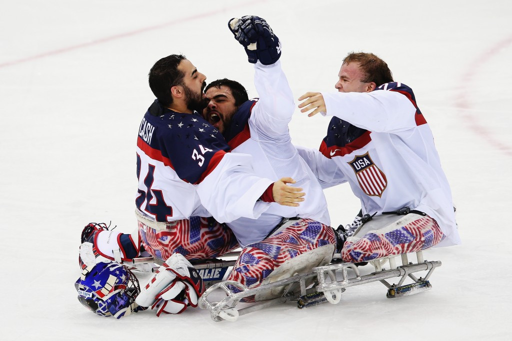 The US will be hoping to defend their Paralympic title at Pyeongchang 2018 ©Getty Images