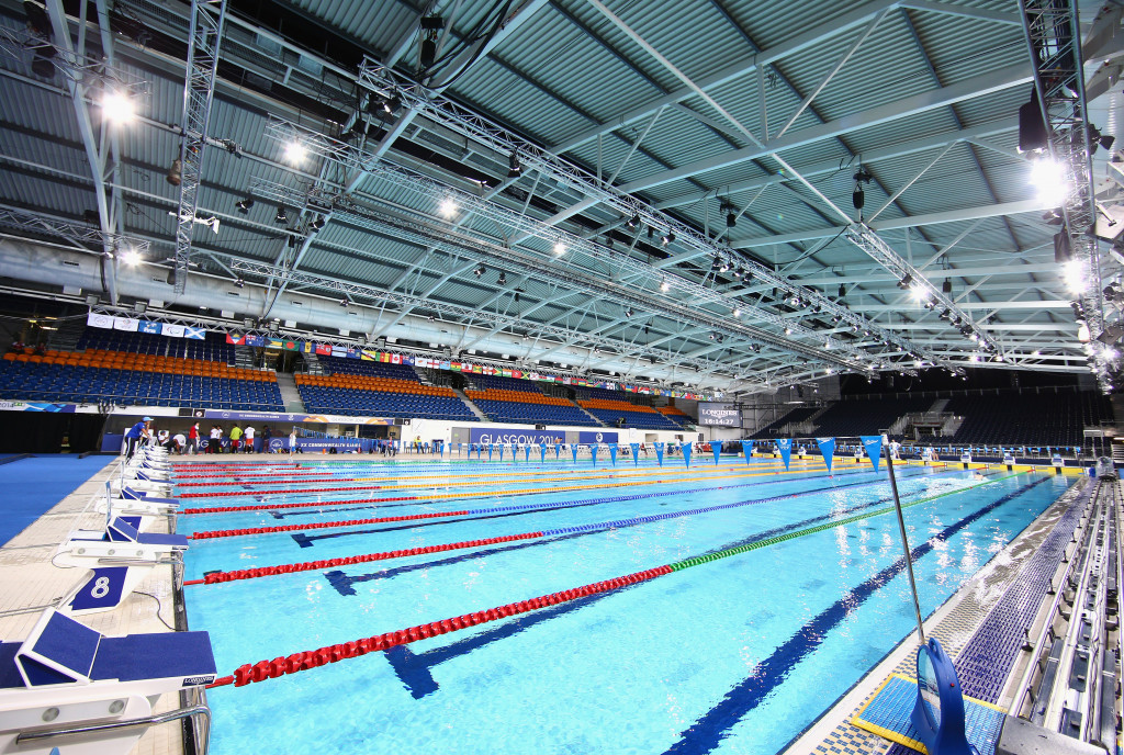 Glasgow to host 2019 European Short Course Swimming Championships