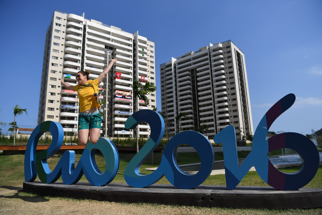 The Rio 2016 Athletes' Village is one of the biggest in Olympic history ©Getty Images