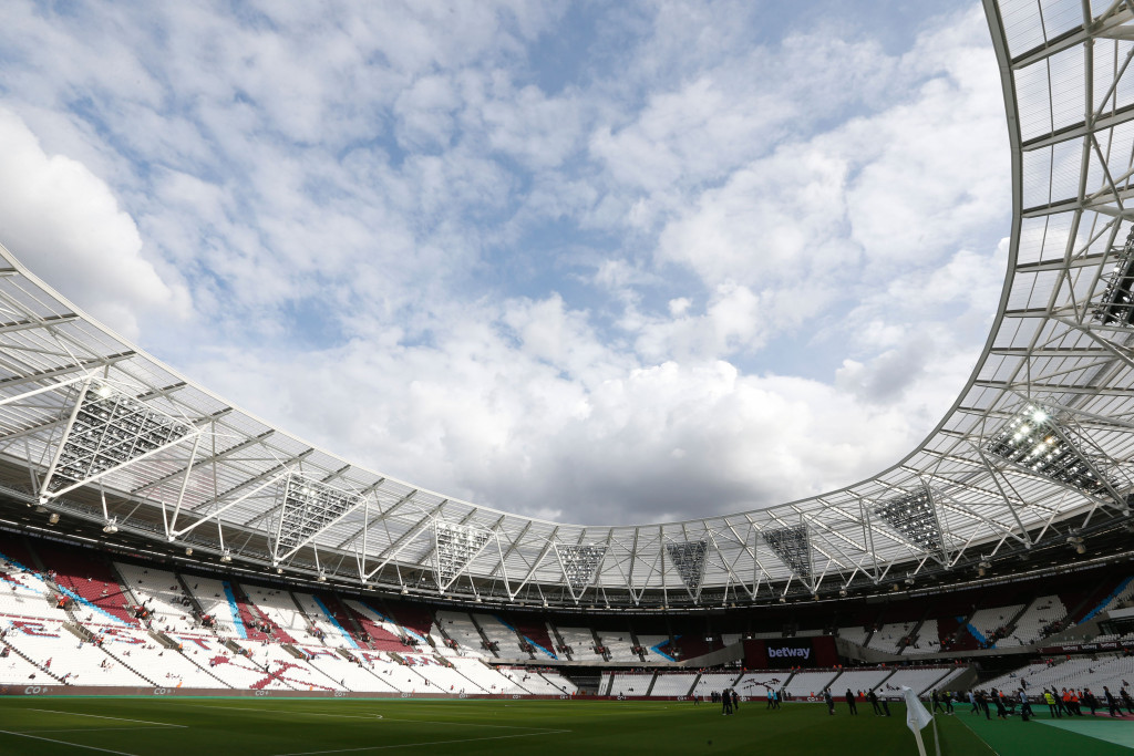 A fixture at the Olympic Stadium could see a crowd of 66,000 ©Getty Images