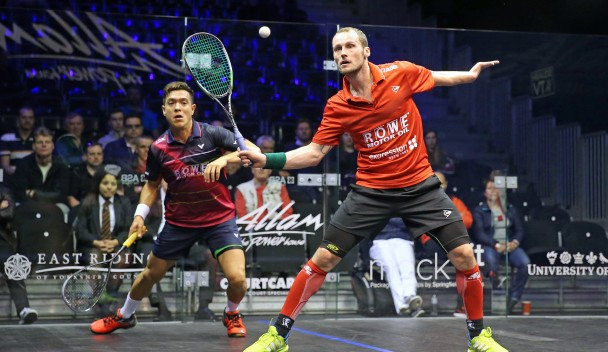 Gaultier makes perfect start to PSA British Open campaign