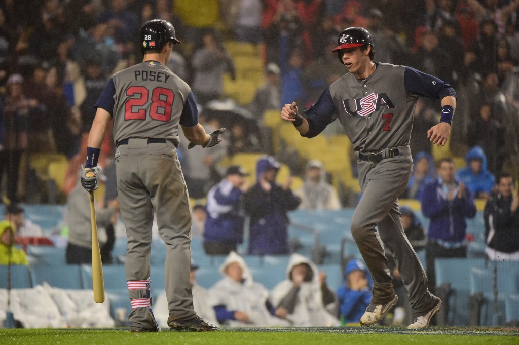 The United States defeated Japan 2-1 to reach the final of the 2017 World Baseball Classic ©Getty Images