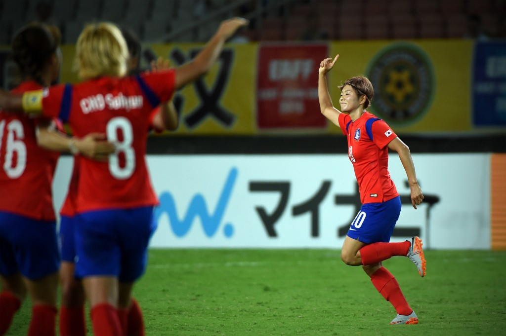 North and South Korea have been drawn in Group B of the Women's Asian Cup qualifying stage which is due to take place in Pyongyang ©Getty Images