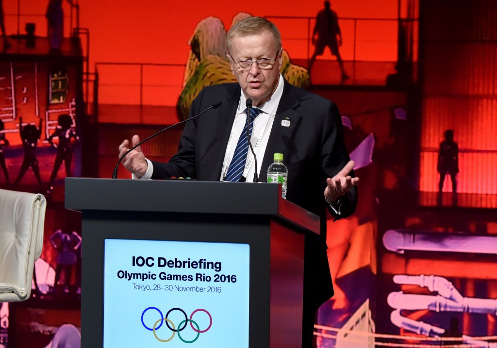 John Coates, an IOC vice president, is also head of the Australian Olympic Committee ©Getty Images