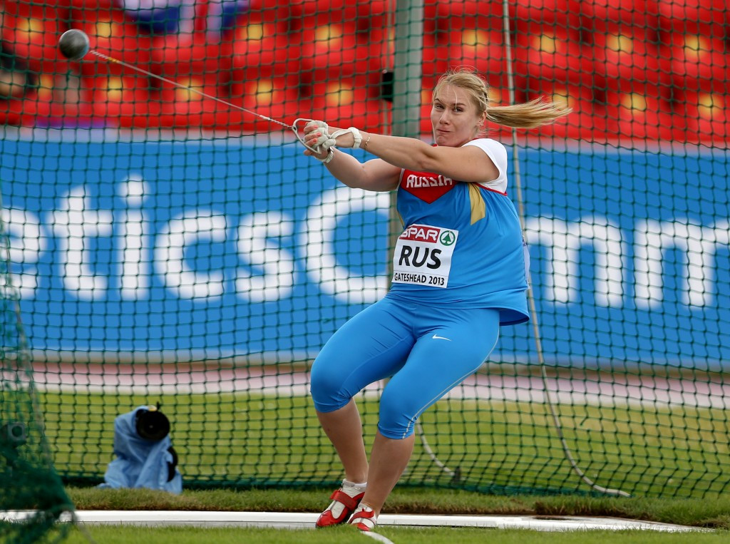Two hammer throwers among latest Russians to fail London 2012 retests