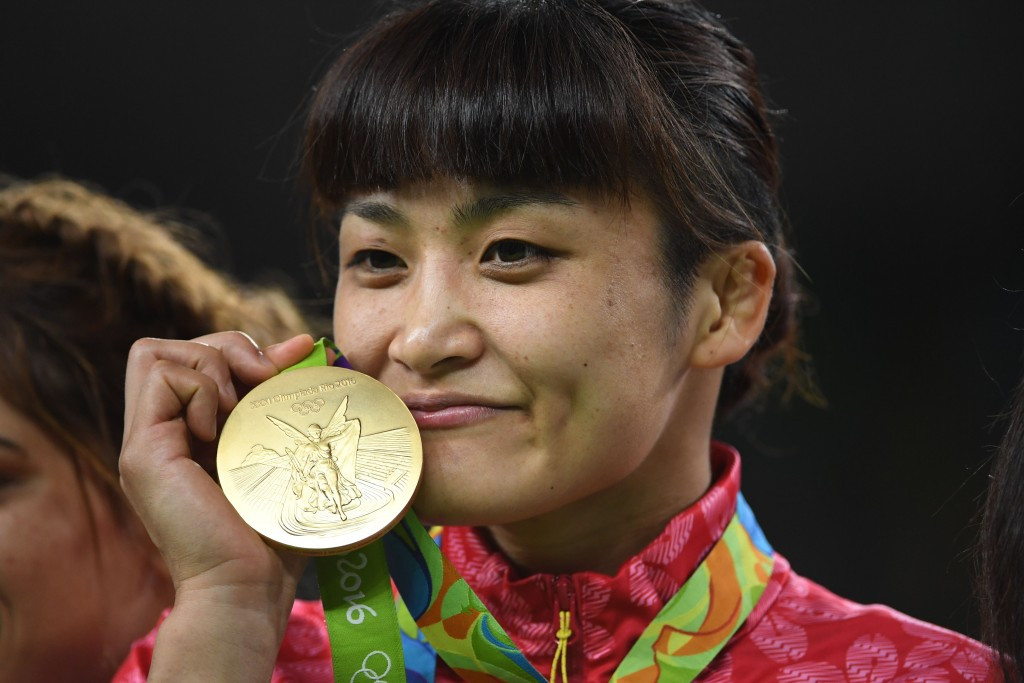 Japanese Olympic champions dominate women's wrestling world rankings