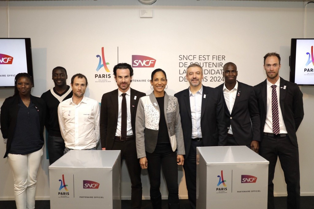 Paris 2024 sign agreement with French railway giant SNCF Group