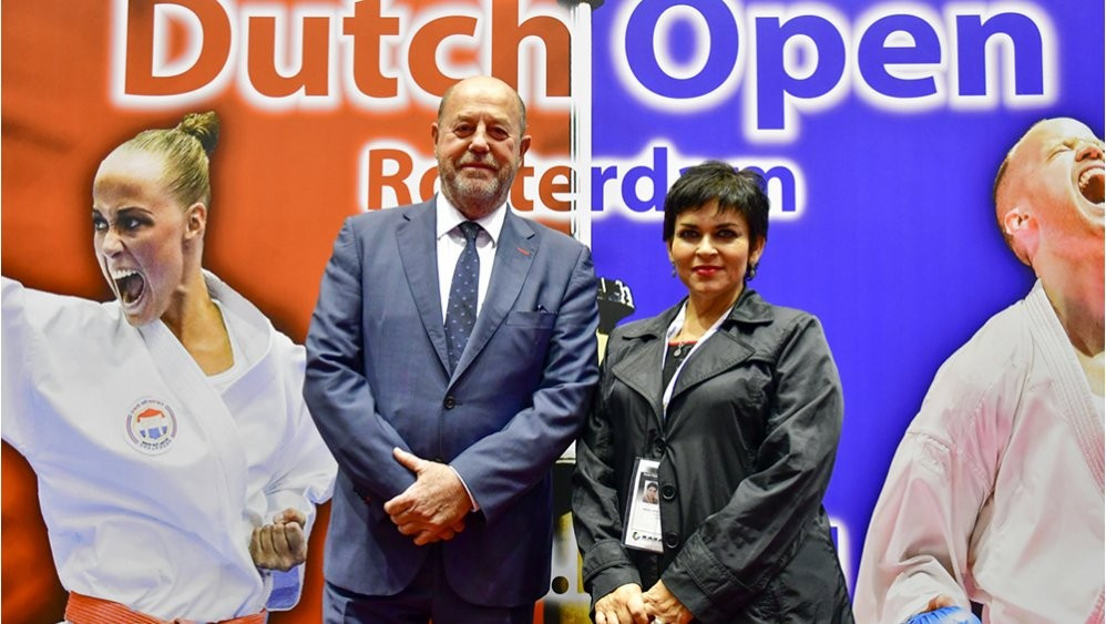 Chilean Karate Federation head meets with WKF President in Rotterdam