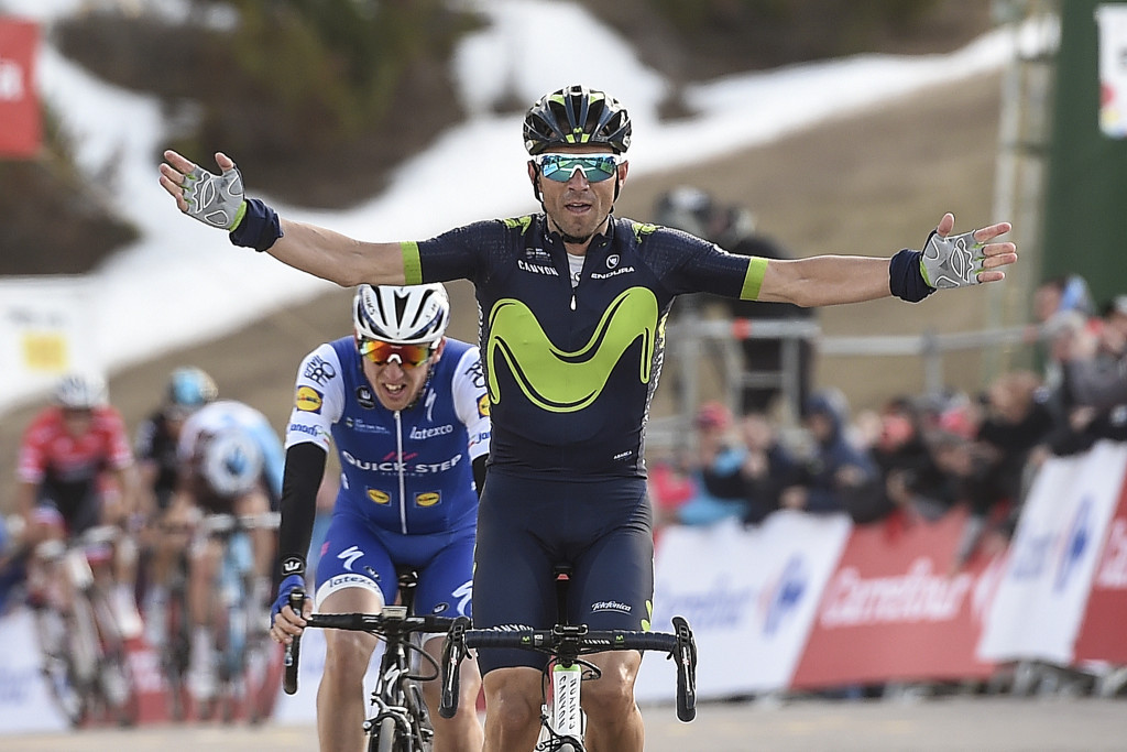 Valverde strikes back with stage three victory at Volta a Catalunya