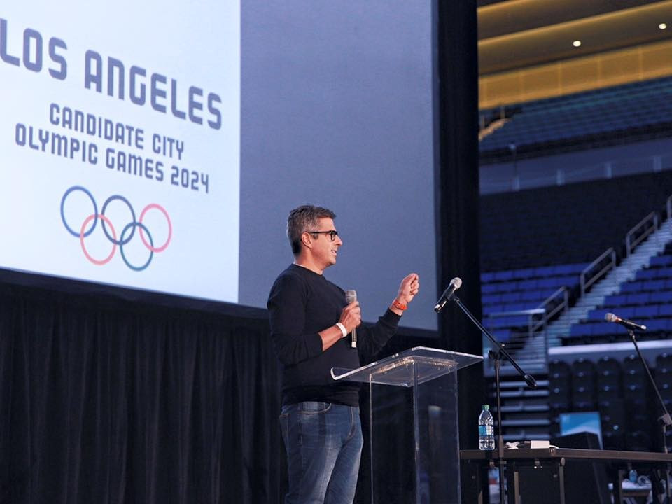 Exclusive: Bid chairman says IOC should award Los Angeles the 2024 Olympics if they believe in Agenda 2020