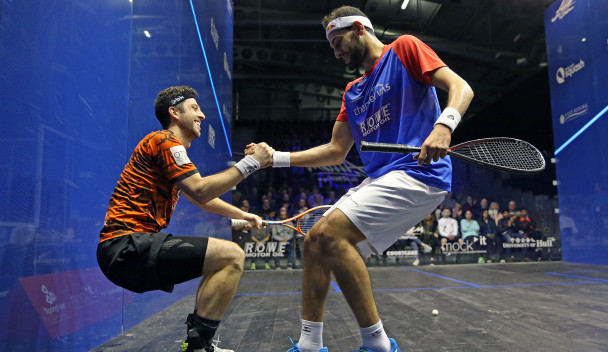 Elshorbagy shows class in second round of PSA British Open