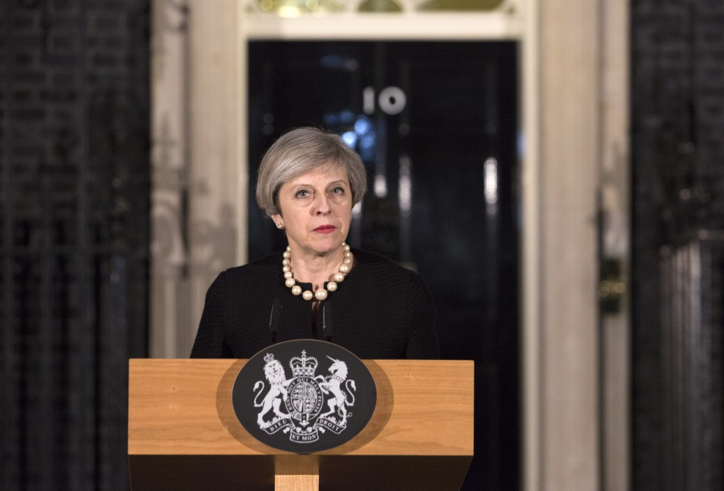 British Prime Minister Theresa May described the attack as