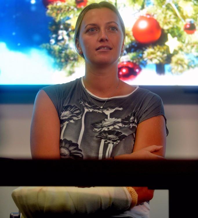 "Kvitova has ""huge motivation"" for tennis return but no comeback date set"