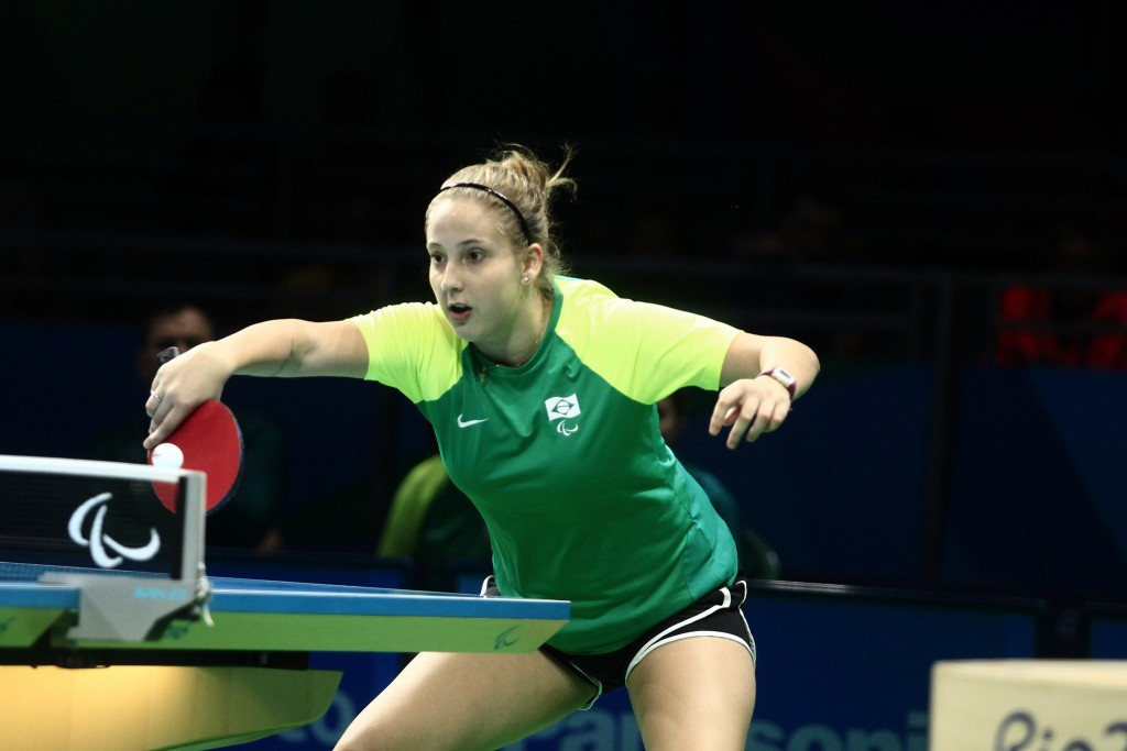 Brazilians on top in table tennis at Youth Parapan Games