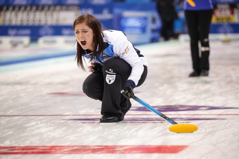 Eve Muirhead left it late before securing a British spot at Pyeongchang 2018 ©WCF