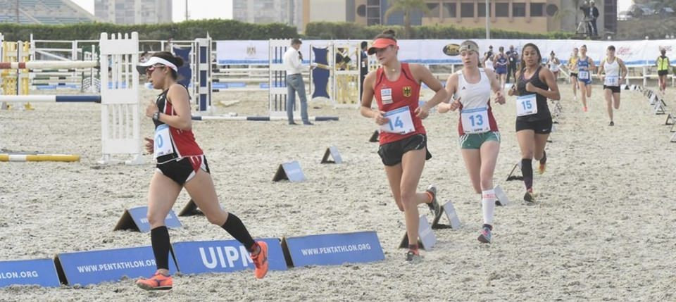Swimming, fencing and combined events were contested in qualifying ©UIPM