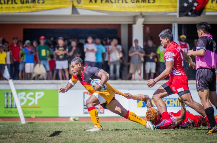 Papua New Guinea seal Pacific Games rugby league nines title as Guam end long wait for basketball gold at Port Moresby 2015
