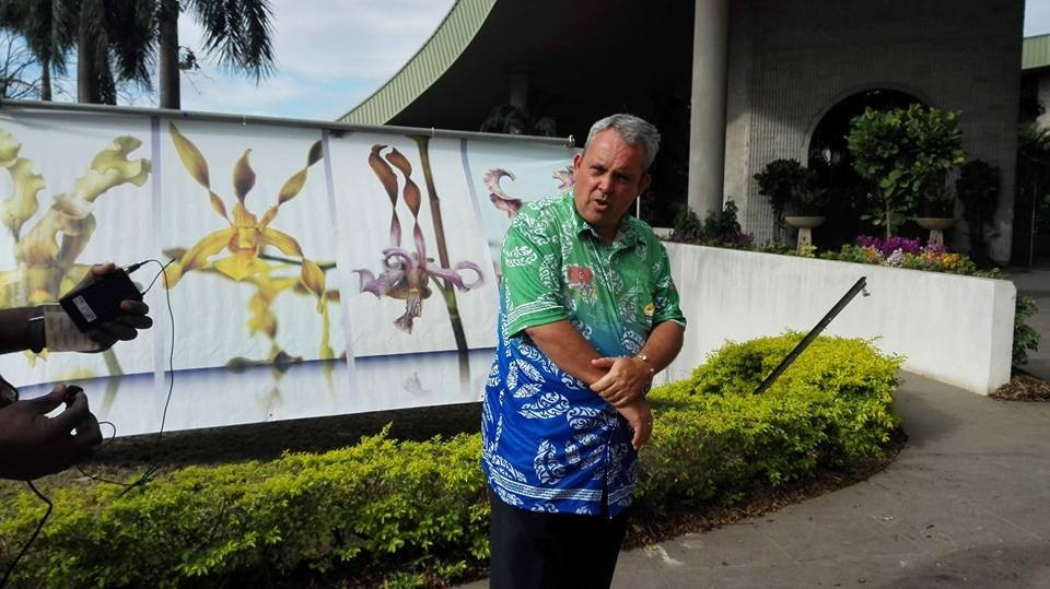 Papua New Guinea's Sports Minister Justin Tkatchenko has played a leading role in the preparations and delivery of the Pacific Games in Port Moresby