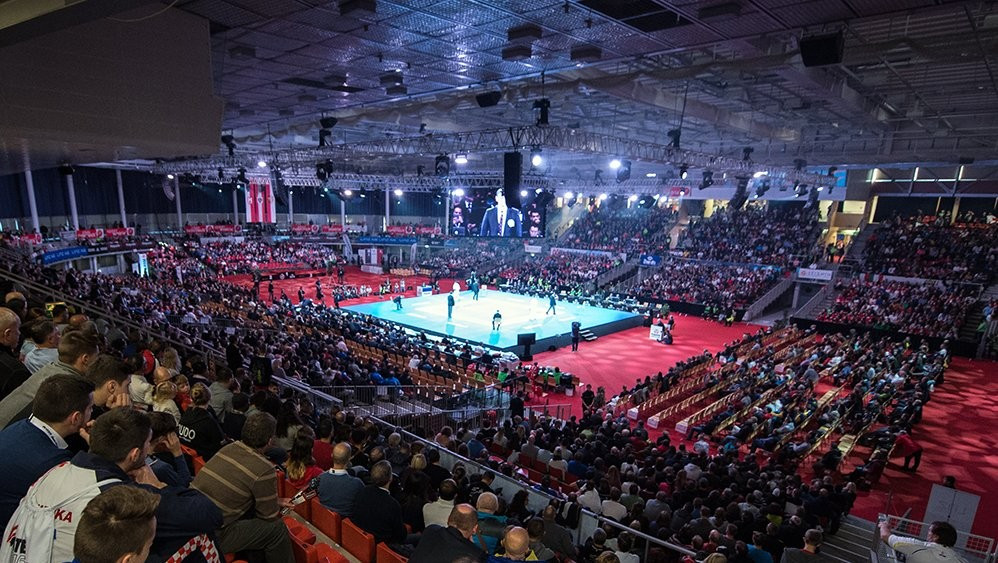 The World Karate Federation has joined forces with the SportAccord Doping-Free Sport Unit ©WKF