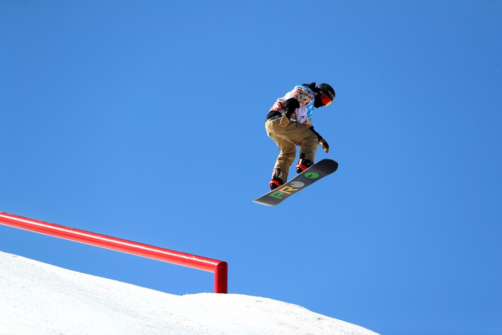 Corning tops qualification standings at FIS Snowboard Slopestyle World Cup finale