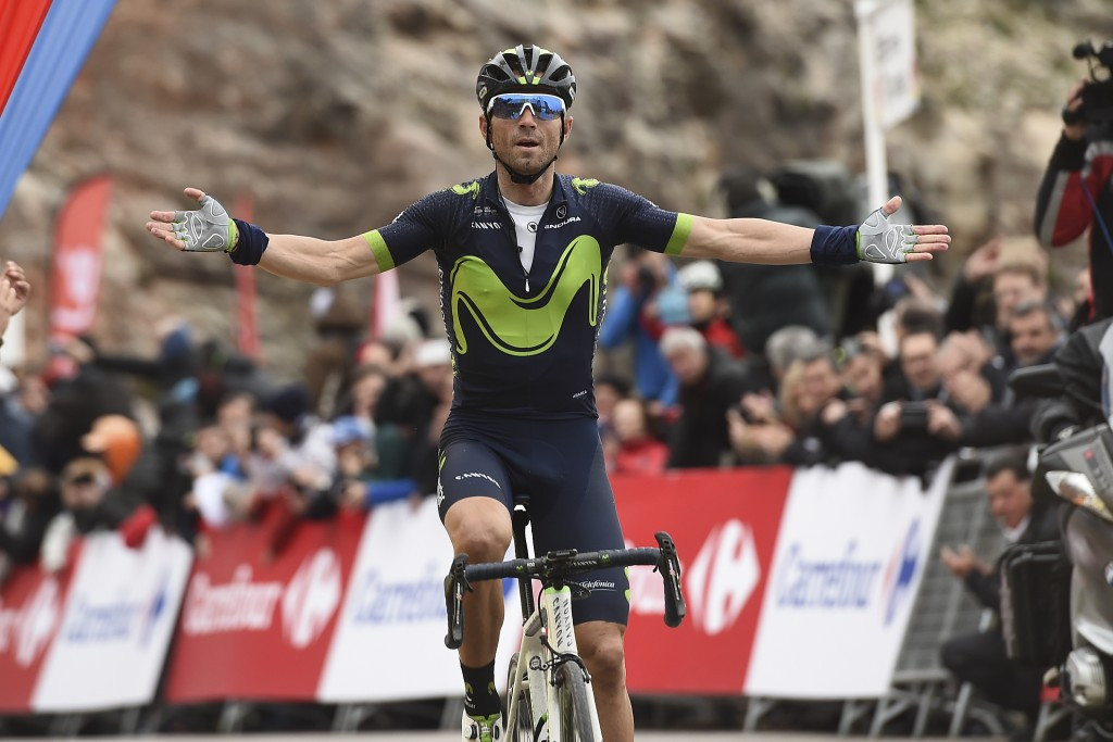 Valverde takes Volta a Catalunya lead after stage five victory