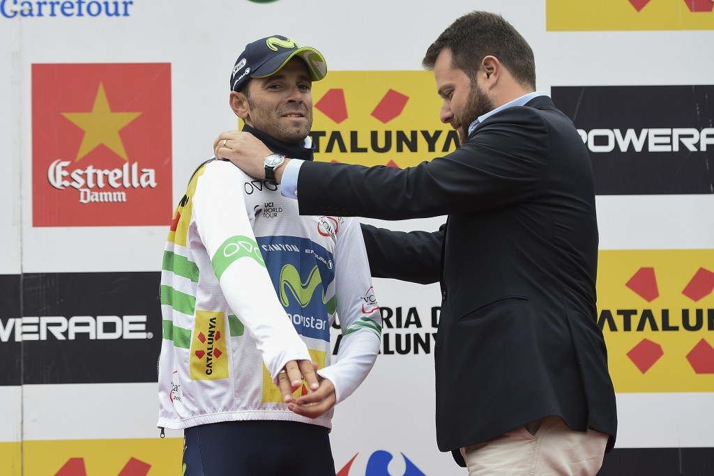 Valverde leads Tour of Catalonia after another stage win
