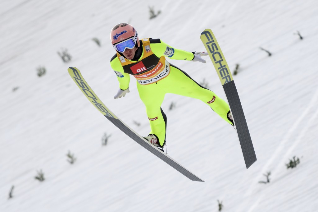 Kraft in seventh heaven as Austrian extends overall FIS Ski Jumping World Cup lead