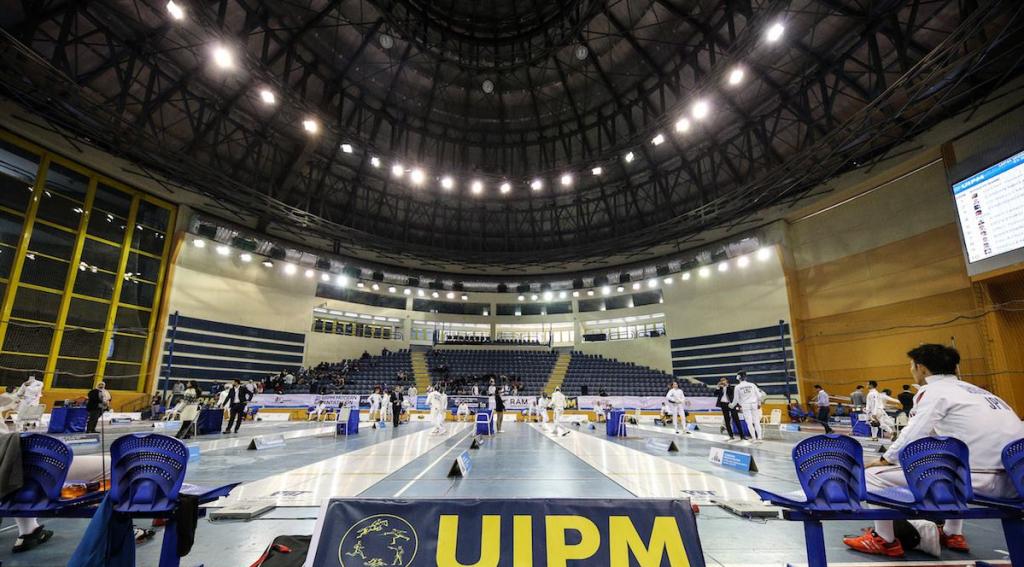The fencing discipline provided the platform for Pavlo Tymoshchenko's victory ©UIPM