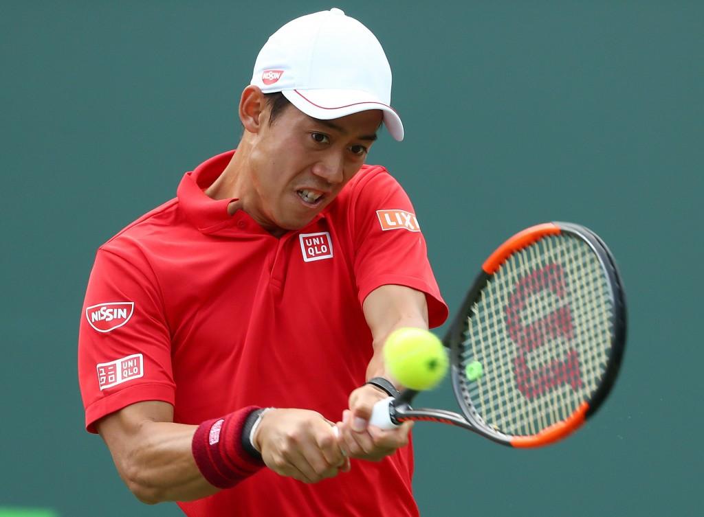 Last year's beaten finalist Nishikori makes winning start to Miami Open campaign