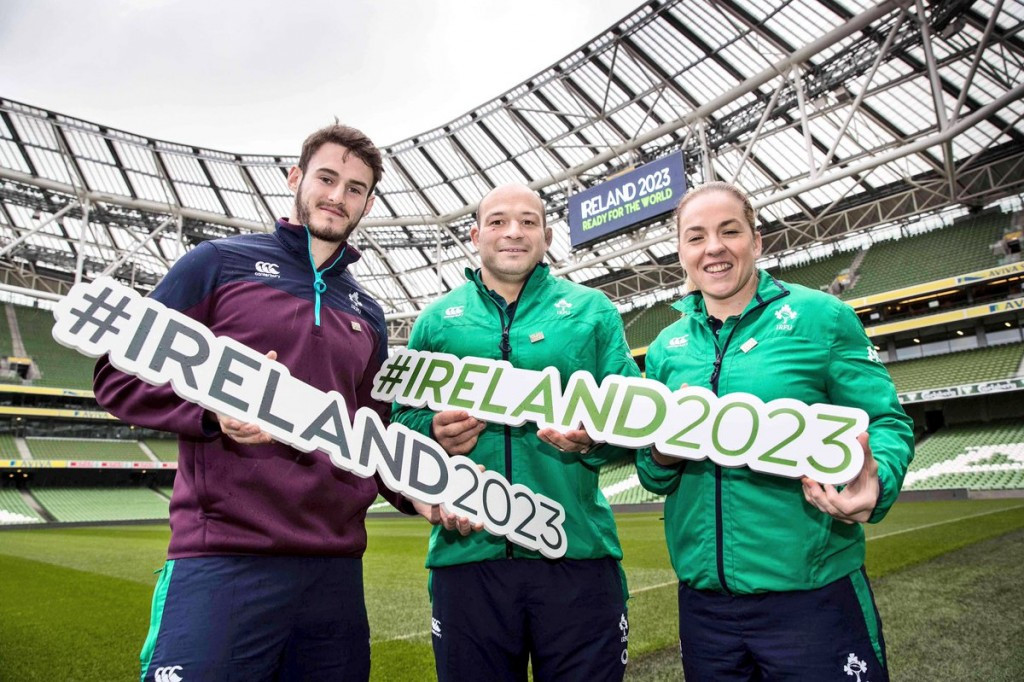 World Rugby's technical review group has completed their visit to Ireland's bid for the 2023 Rugby World Cup ©Irish Rugby