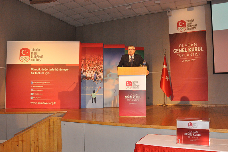 Erdener re-elected Turkish Olympic Committee President