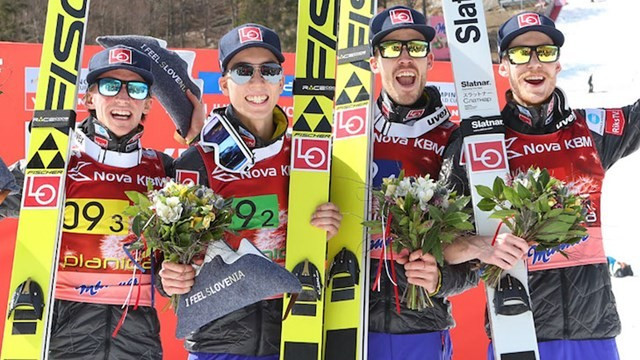 Norway win team gold at FIS Ski Jumping World Cup in Planica