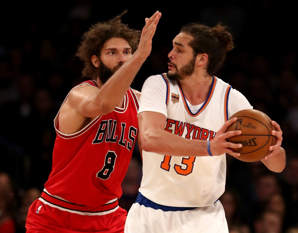 The National Basketball Association has today suspended New York Knicks centre Joakim Noah for 20 games without pay after he failed a doping test ©Getty Images