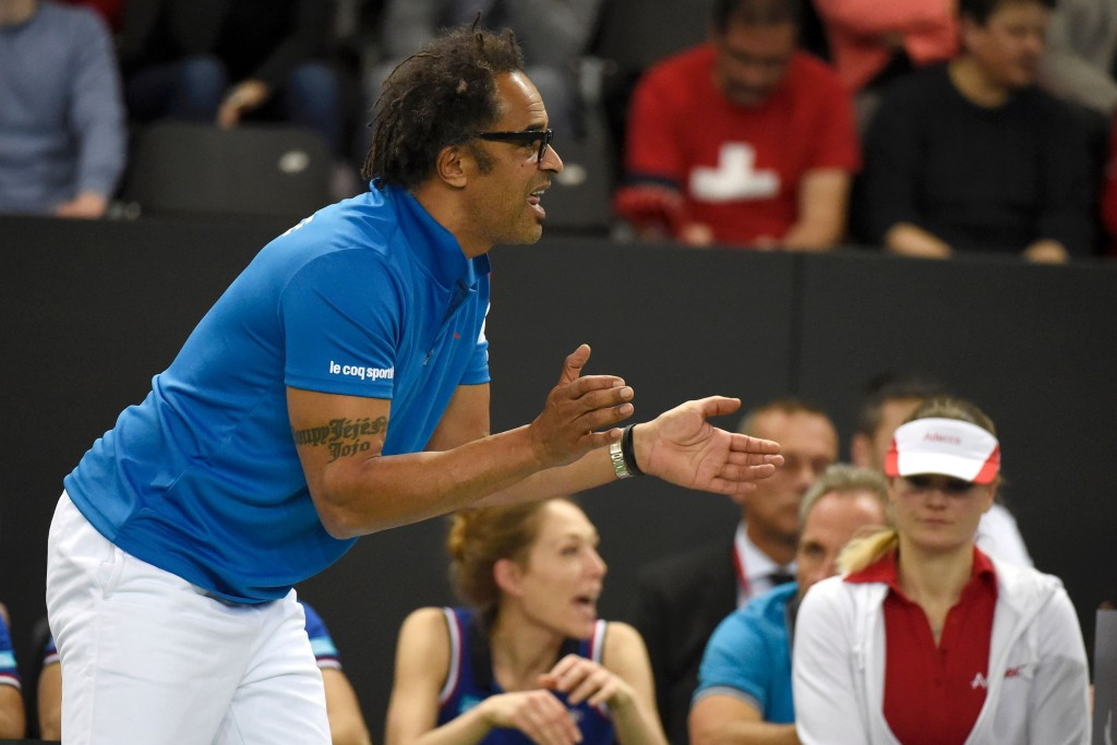 Joakim Noah is the son of French tennis legend Yannick, who is pictured above ©Getty Images