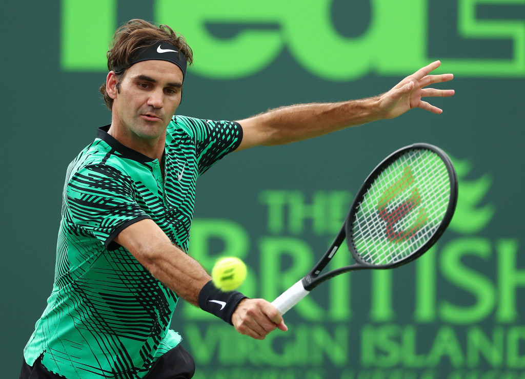 Federer makes successful return to Miami Open with second round win