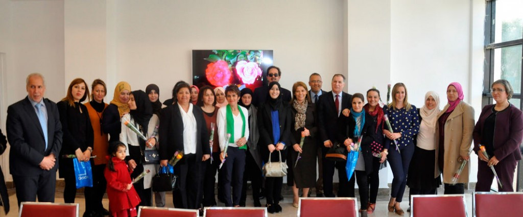 Algerian Olympic Committee hosts reception to mark International Women's Day