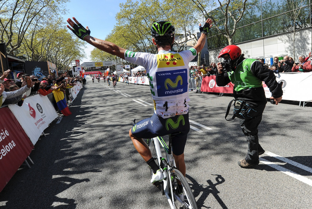 Valverde wraps up Volta a Catalunya title with stage seven victory