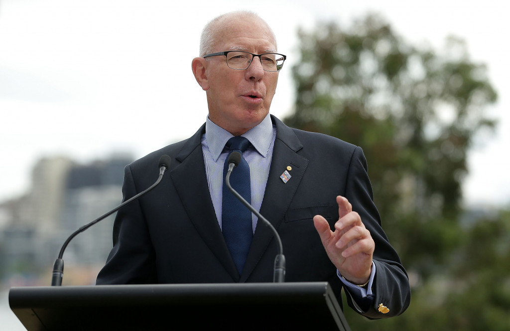 David Hurley, the Governor of New South Wales, has been named as the tournament's patron ©Getty Images