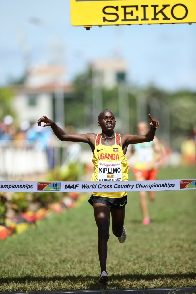 Home runner Jacob Kiplimo delivers Uganda its first ever World Cross gold as he wins the men's under-20 race in Kampala ©IAAF