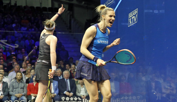 Laura Massaro clinched her second British Open crown ©PSA