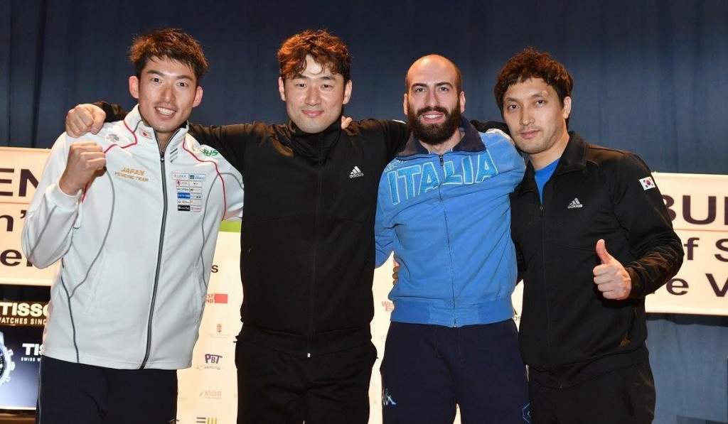 Jung claims men's title at FIE Grand Prix in Budapest