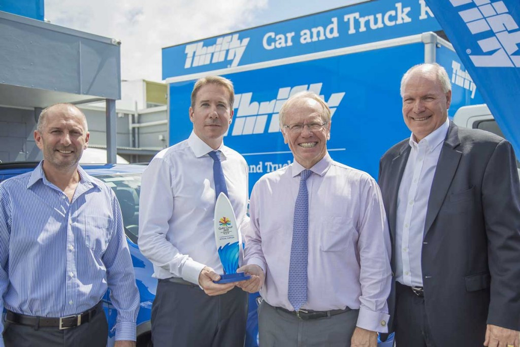 Thrifty named official car rental supplier of Gold Coast 2018