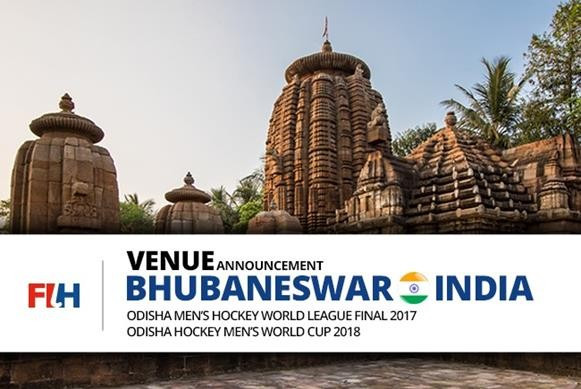 Bhubaneswar in India has been named as the host of the men's 2017 Hockey World League Final and 2018 World Cup hockey tournaments ©FIH
