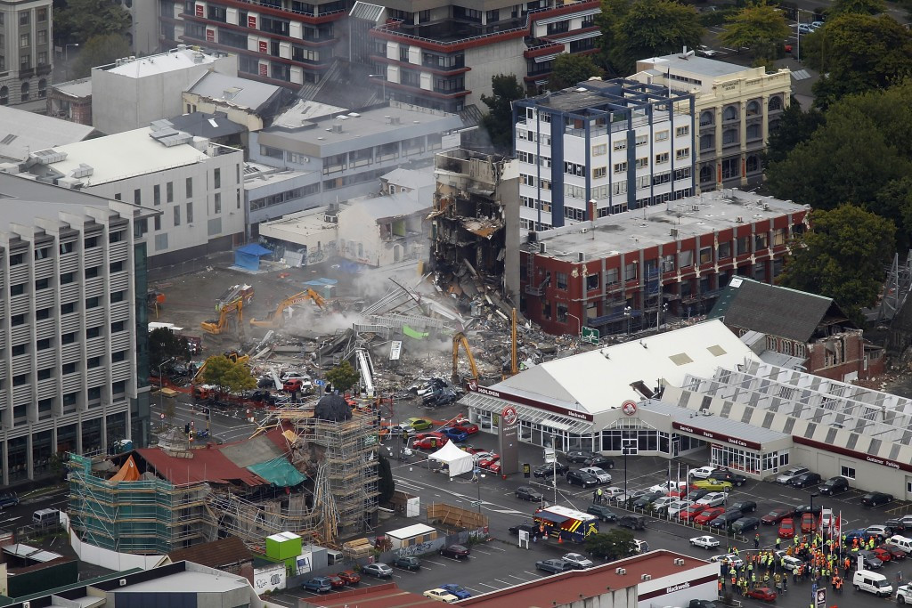 Christchurch is still recovering from a devastating earthquake in 2011 ©Getty Images
